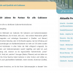 Sneak preview Duitse website
